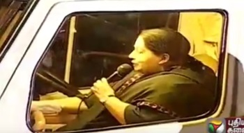 Jayalalithaa Lists Achievements at Election Campaign in RK Nagar