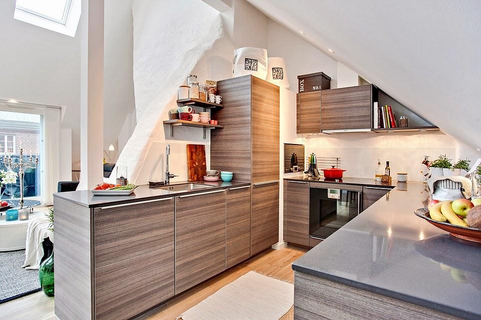 amenajari, interioare, decoratiuni, decor, design interior, penthouse, duplex,  bucatarie