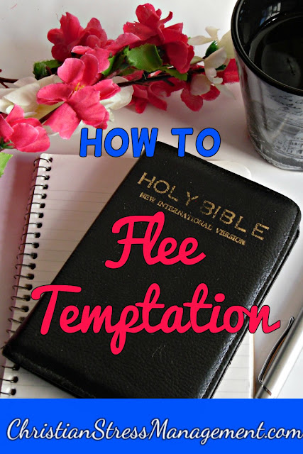 How to flee temptation