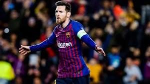 Liga Champions-Barca Habisi Lyon 5-1, Kiper Lyon Jadi Bulan Bulanan Lionel Messi