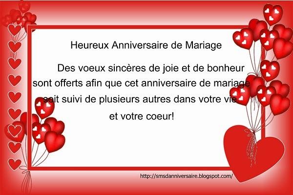 Texte Anniversaire De Mariage Mari