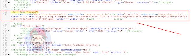 Cara Membuat Logo Blog Agar Responsive