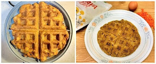 Cooked Savory Cassava- Carrot Waffles or Tortillas (Paleo, Gluten-free, Grain-free, Whole30, Dairy-free, Vegan).jpg