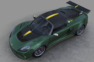 Lotus Exige Cup 430 Type 25 (2018) Front Side