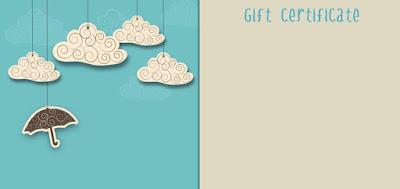 Blank Gift Certificate Templates Printable KOlaw