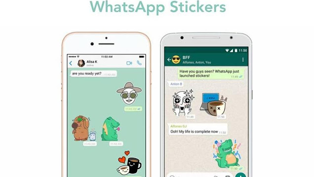 WhatApp Stickers Launches For iOS and Android