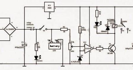 BLOG TEKNIK & VOKASI: Merakit Charger Baterai 12 V Otomatis