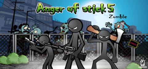Anger of Stick 5 v1.1.3 Apk Mod [Dinheiro]