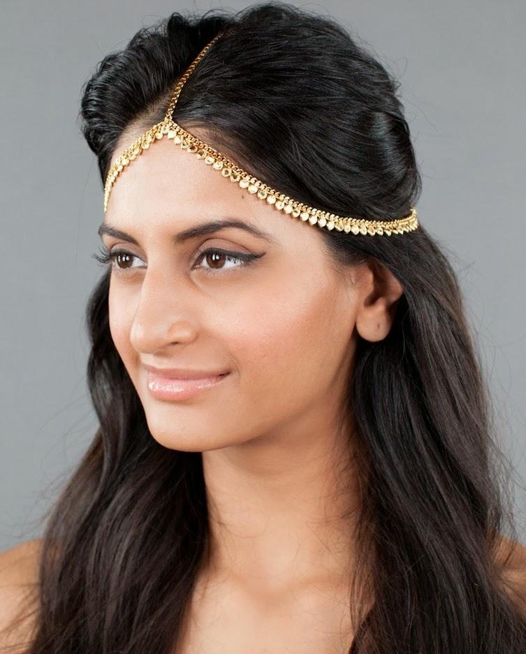 Indian Wedding Headdress: CitiGirlScene: How To Wear Headpieces With Indian Wear