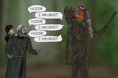 Hodor Vs Groot