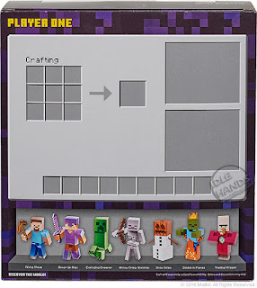 san diego comic-con 2016 mattel exclusive MINECRAFT SURVIVAL MODE PLAYER ONE figure