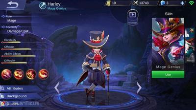 4 Mobile Hero Legends