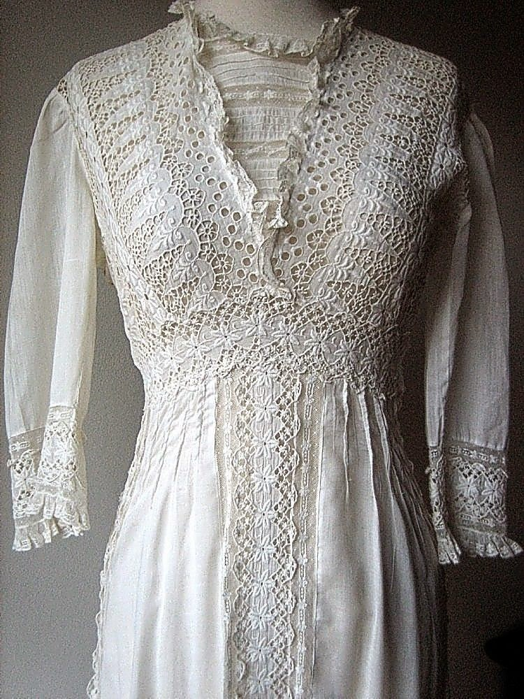 All The Pretty Dresses Edwardian White Summer Dress