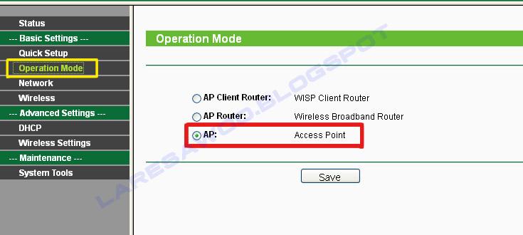 Cara Setting Tp-Link WA5210G Sebagai Bridge (point to