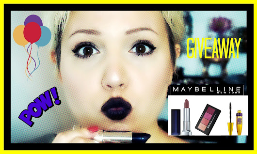 MAYBELLINE GIVEAWAY! X1 ΝΙΚΗΤΡΙΑ Χ1 TOTAL LOOK!