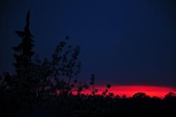 Sonnenschimmer am Horizont...