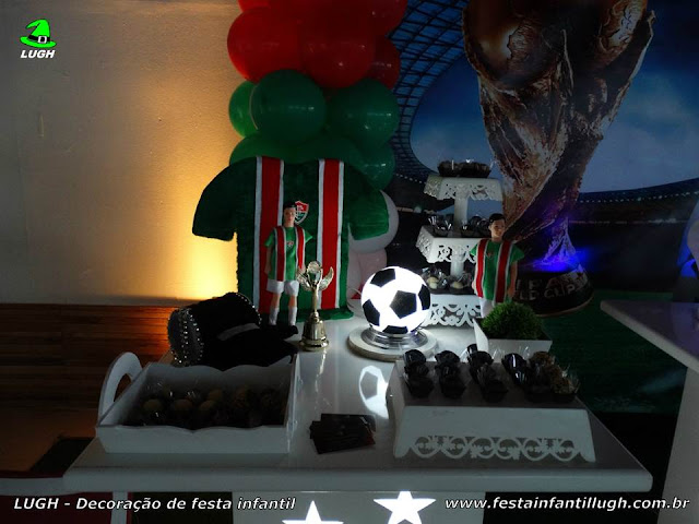Decoração de aniversário Fluminense