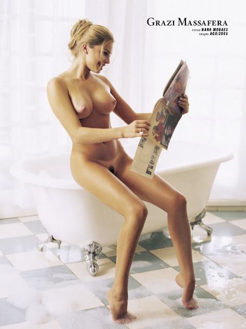 Fotos de Grazi Massafera nua pelada na Playboy