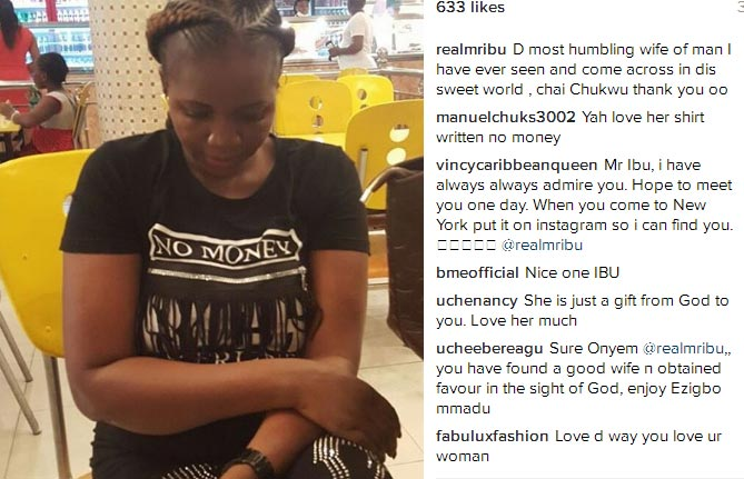 Mr. Ibu eulogizes his wife, thanks God for her
