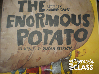 Art activity to go with ENORMOUS themed books like The Enormous Turnip