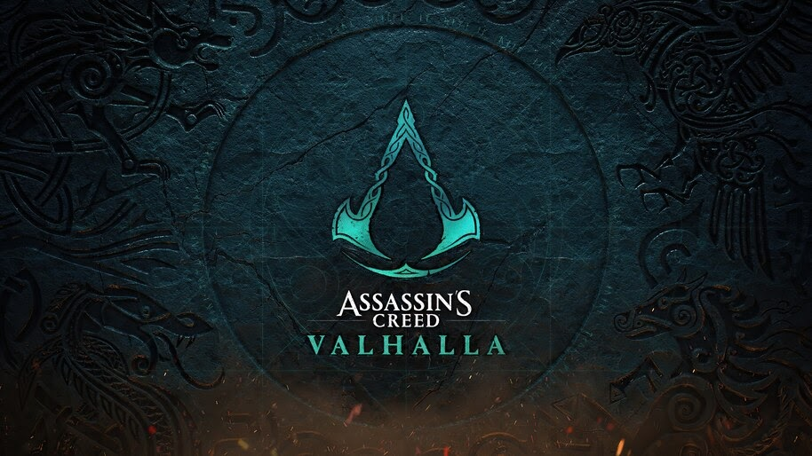 Assassin S Creed Valhalla Logo 4k Wallpaper 7 1963