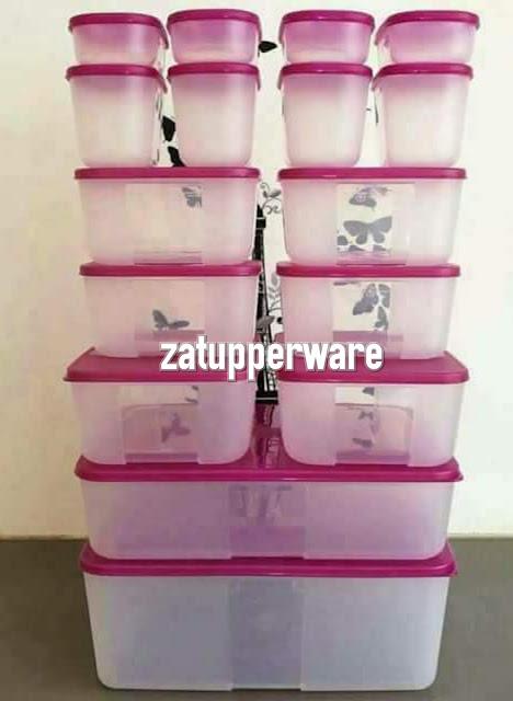 Tupperware Freezermate Set (Purple)