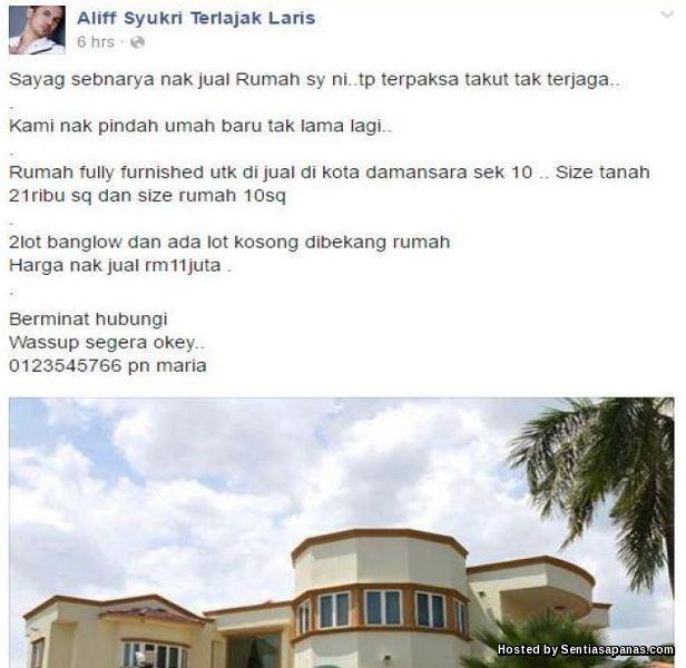 Dato' Terlajak Laris Lelong Rumah [2]