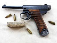 Japanese WW2 Type 14 Nambu 8mm Pistol