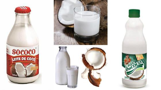 passar leite de coco no cabelo