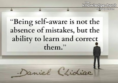 Self awareness (self conscious) for success and personality development