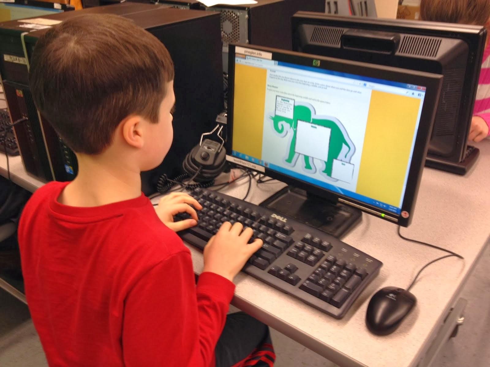 Pine Glen Elementary School Principal S Blog Computer Lab