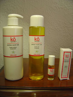 Ko Denmark Jasmine Neroli Rose perfume, Body Lotion, Body Oil.jpeg