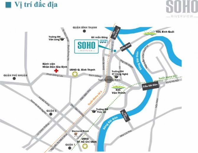 Liên kết vùng dự án Soho Riverview