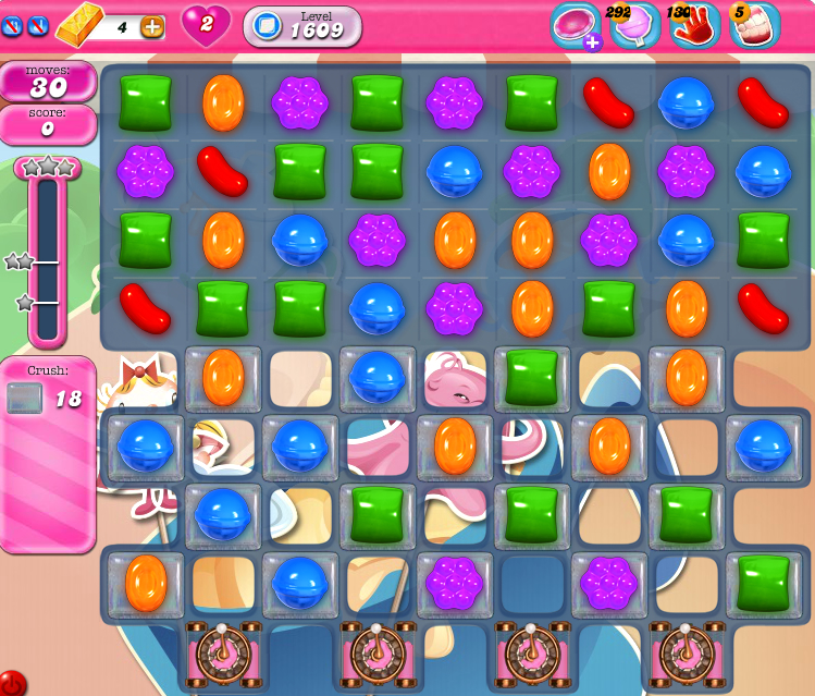 Candy Crush Saga 1609