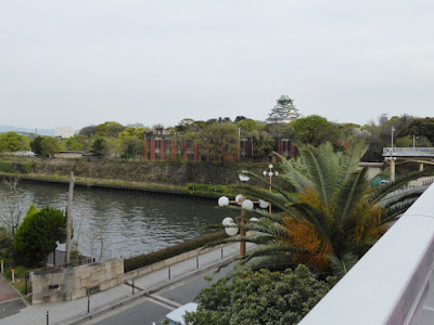 京橋からの眺め 大阪城