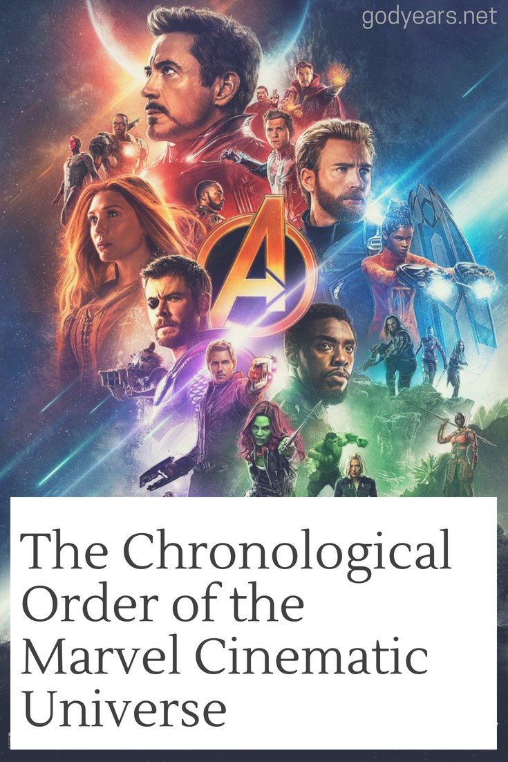 The order for you to watch the Marvel movies based on chronological events would be...