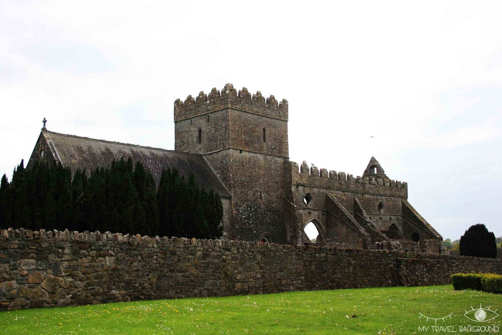 My Travel Background : les Wicklow Moutains - Jerpoint Abbaye