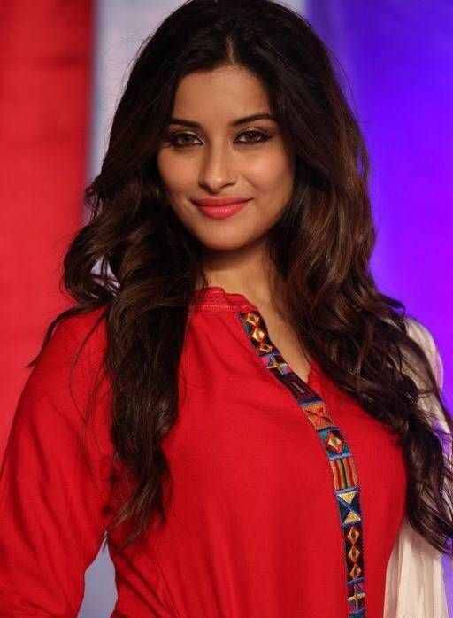 Madhurima Latest Photos In Red Dress