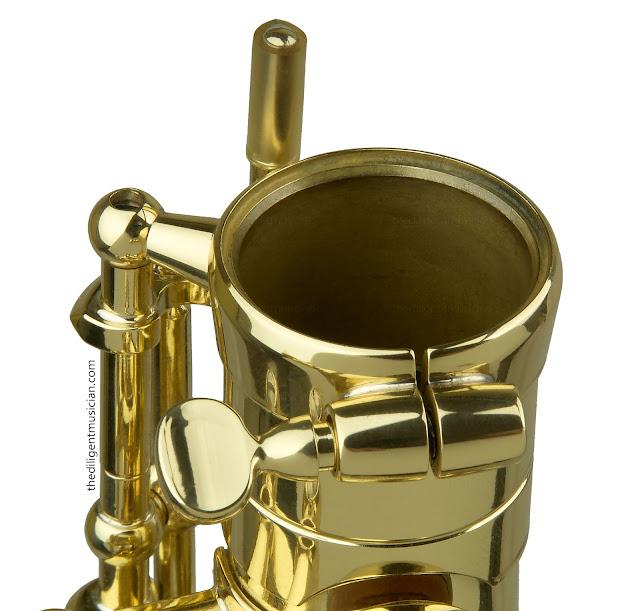 SeleS Axos Alto Saxophone Neck Tenon Bevel