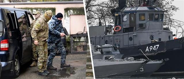 Ρωσία: «Αιχμάλωτοι πολέμου» δηλώνουν οι ουκρανοί ναυτικοί