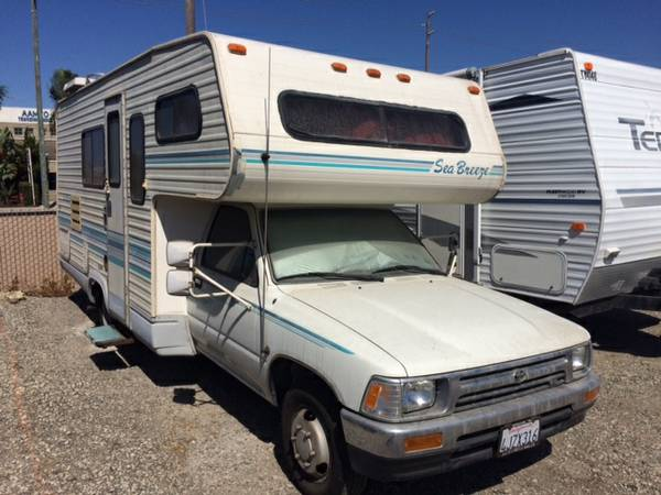 used rvs 1993 toyota sea breeze rv for sale by owner. Black Bedroom Furniture Sets. Home Design Ideas