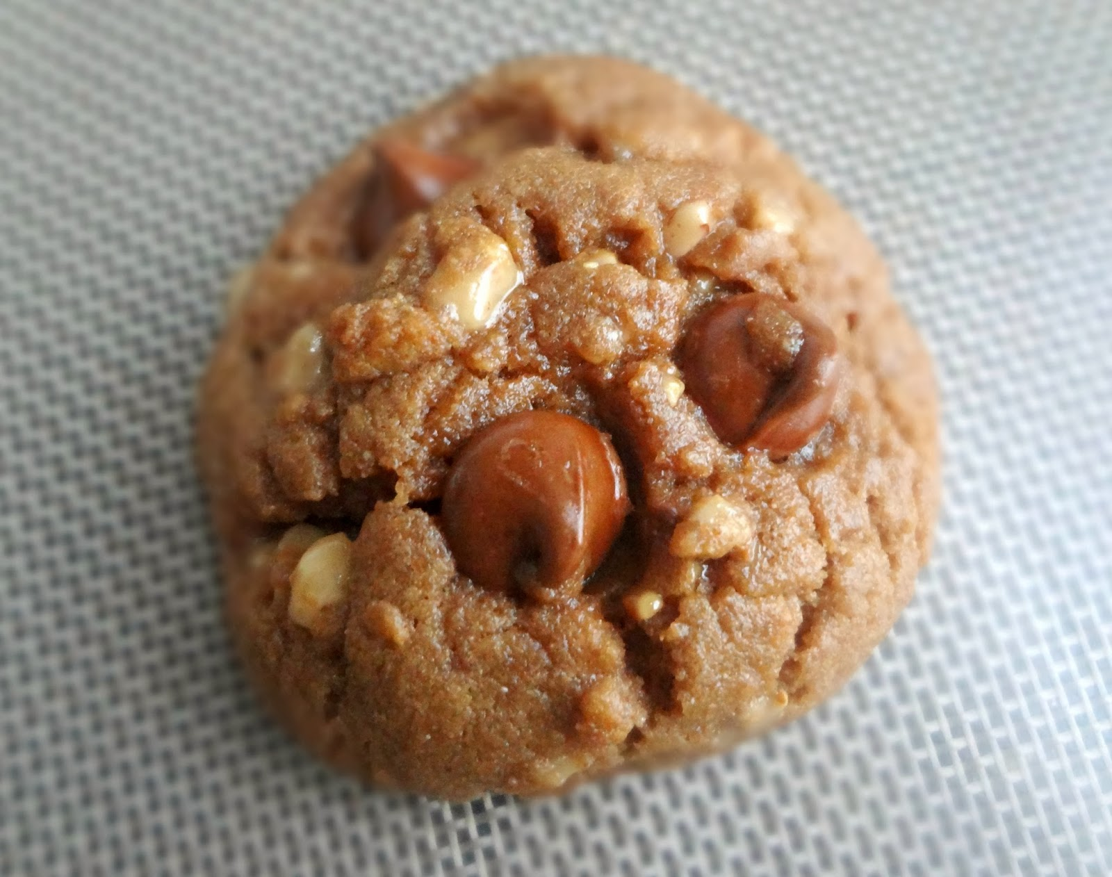 Toffee & Milk Chocolate Peanut Butter Cookies (Gluten Free)