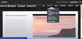 A screenshot of the Powerhouse website at near-completion