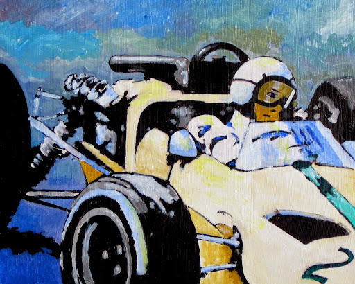 bruce docker | racing | art | F1