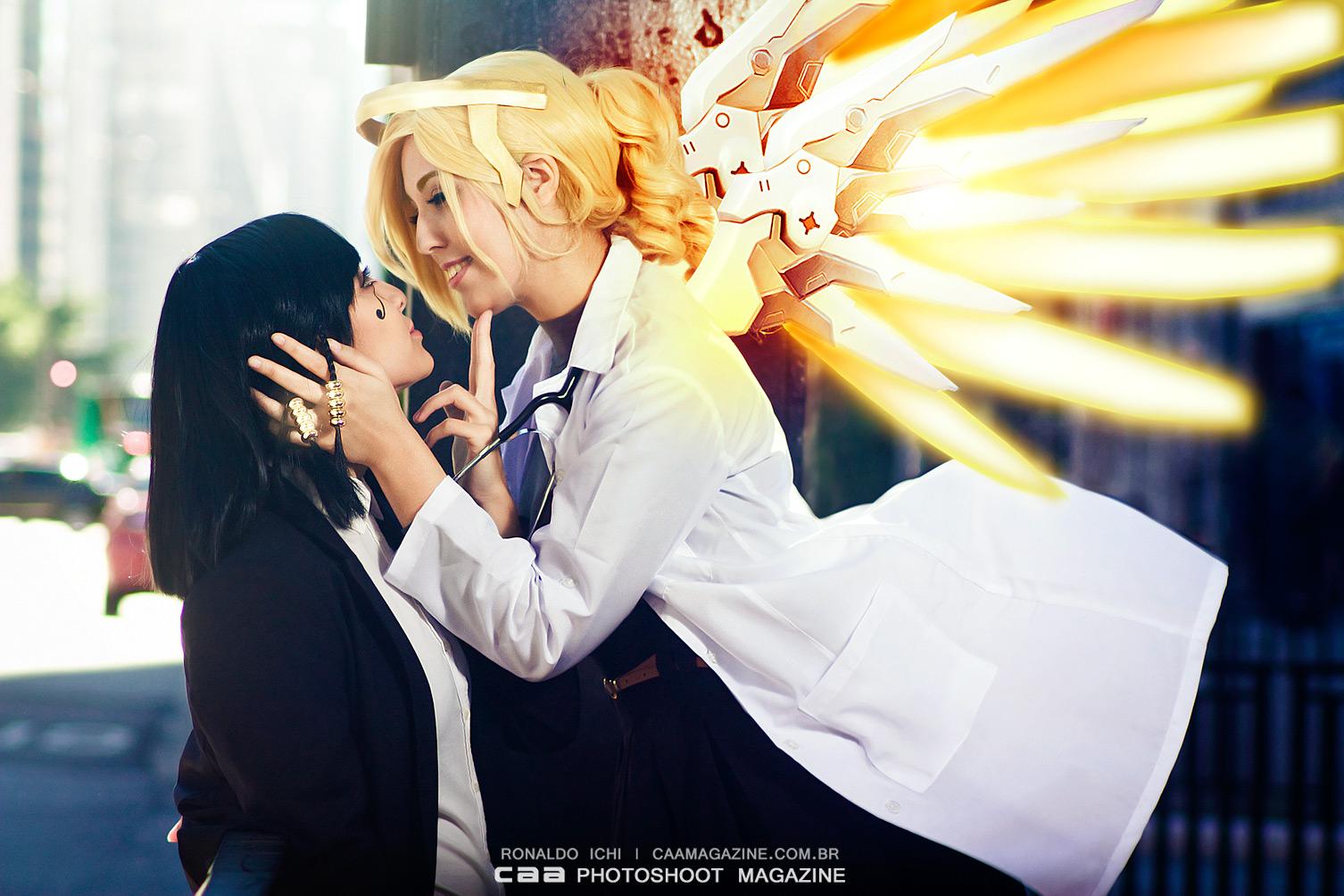 Pharah & Mercy | OVERWATCH cos Cami & Michii
