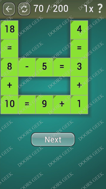 Math Games [Beginner] Level 70 answers, cheats, solution, walkthrough for android