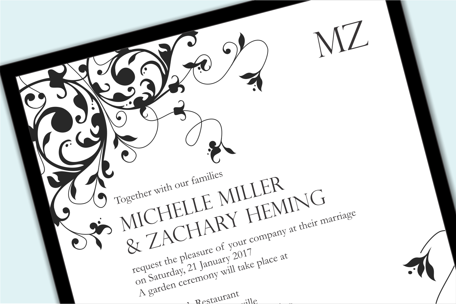 Formal Wedding Invitations: What's Your Wedding Invitation