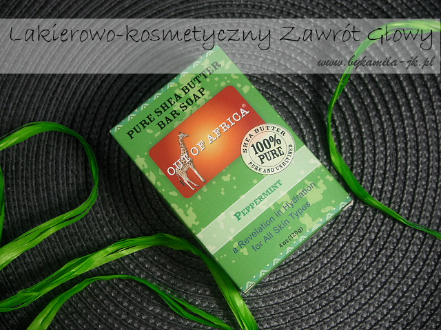 Out of Africa naturalne miętowe mydło peppermint natural soap