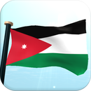 Jordan Flag 3D Free Wallpaper Apk Download for Android