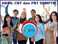 Pengumuman Hasil CBT dan PBT SBMPTN 2017/2018